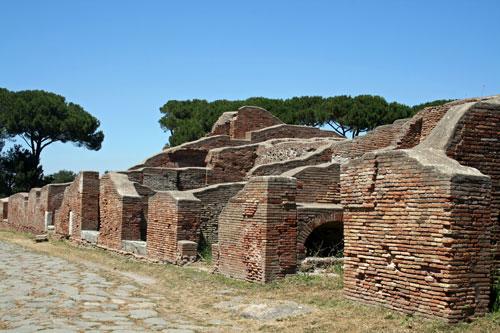 Ostia antica near rome insulae flats joy smith flickr for Mr arredamenti ostia antica