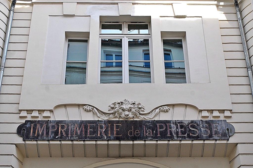 23 - 3 octobre 2010 Paris 16 rue du Croissant Imprimerie d… | Flickr