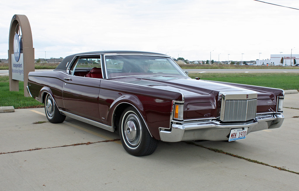 1970 lincoln continental mark iii coupe 2 of 8. Black Bedroom Furniture Sets. Home Design Ideas