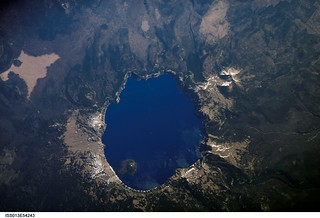 Crater Lake, Oregon (NASA, International Space Station Science, 07/19/06) | by NASA's Marshall Space Flight Center