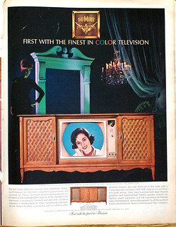 DuMont First with the finest in color television 1964 | by Nesster