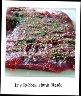 Dry Rubbed Flank Steak | by CinnamonKitchn
