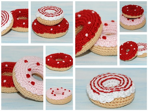 Amigurumi Donut : Amigurumi donuts Dont they look sweet... See you at ...