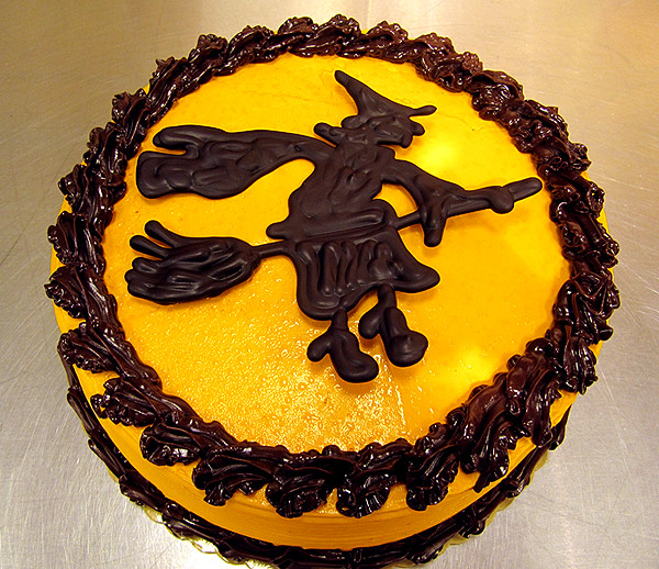 Halloween Chocolate Witch Cake By Tony Albanese A