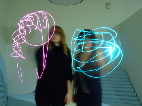 Light graffiti @ Studio 13/16 | by Brigade Neurale
