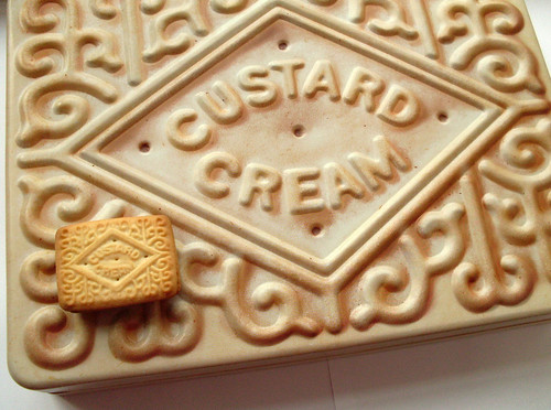 Giant Custard Cream | by bugsandfishes by lupin