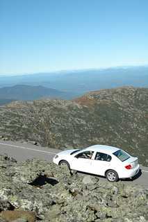 Long way down | by Mt.Washington Auto Road