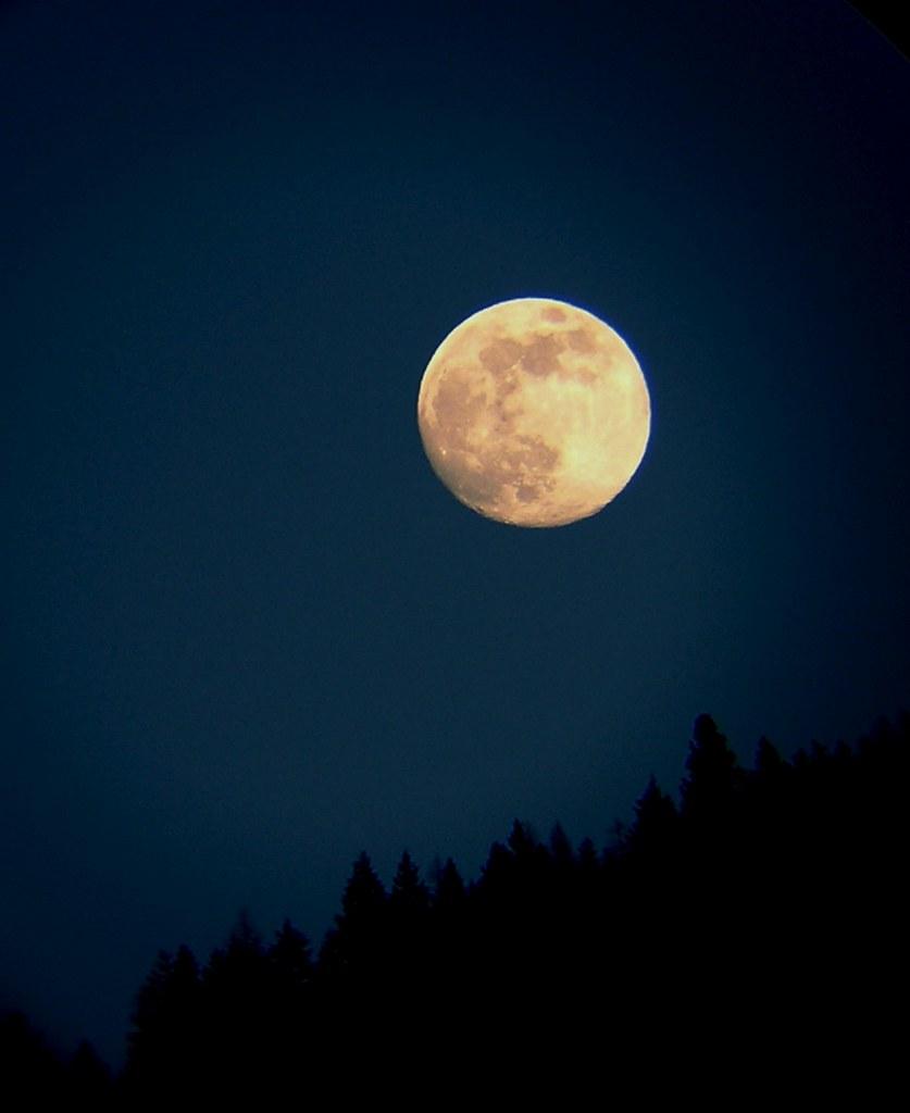 Full Moon Idaho Full Moon in Idaho