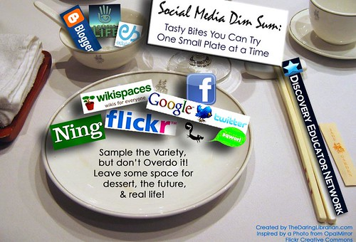 Social_Media_DimSum --Social Media Small Plate Style -- OLD VERSION | by The Daring Librarian