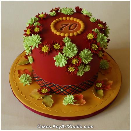 Fall Birthday Cake cakeskeyartstudiocomcake blogitem5 Flickr