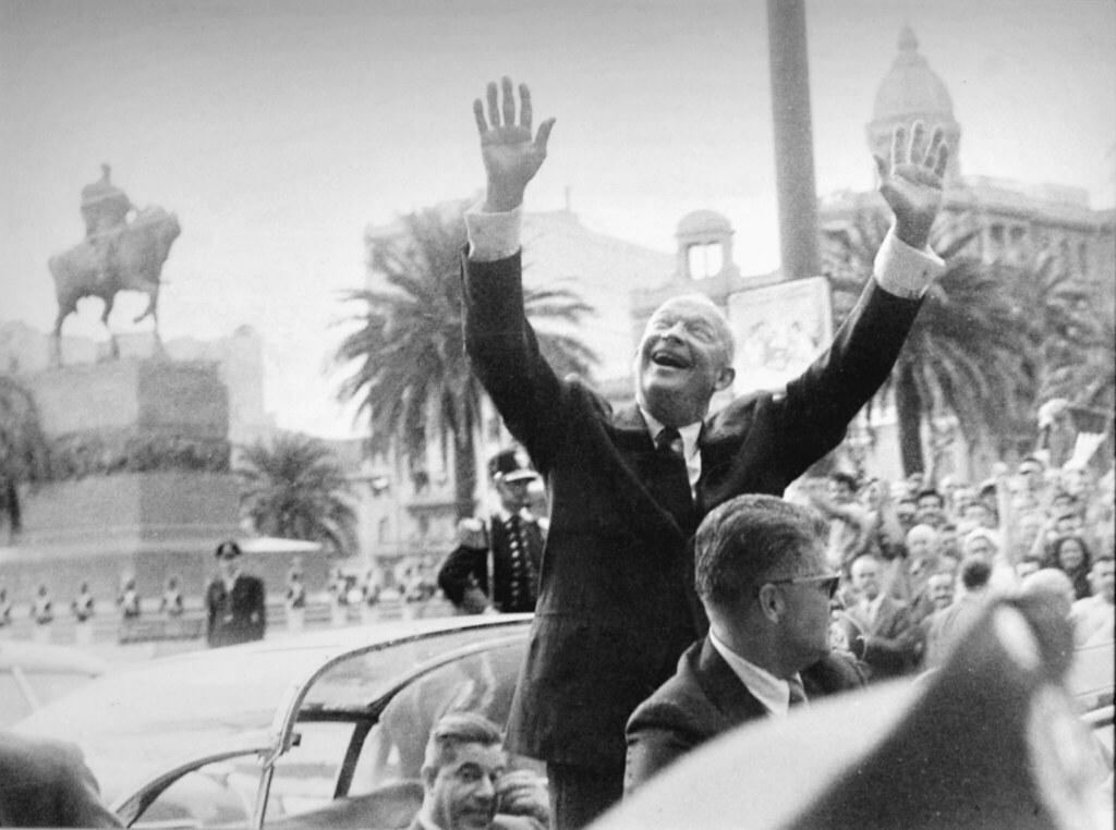 Eisenhower en Uruguay