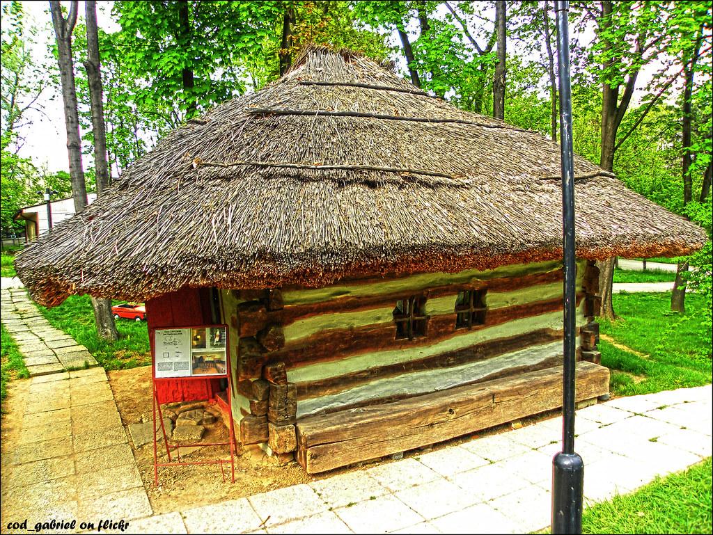 Casa vasluiana peasant house from vaslui county romania flickr - Romanian peasant houses ...