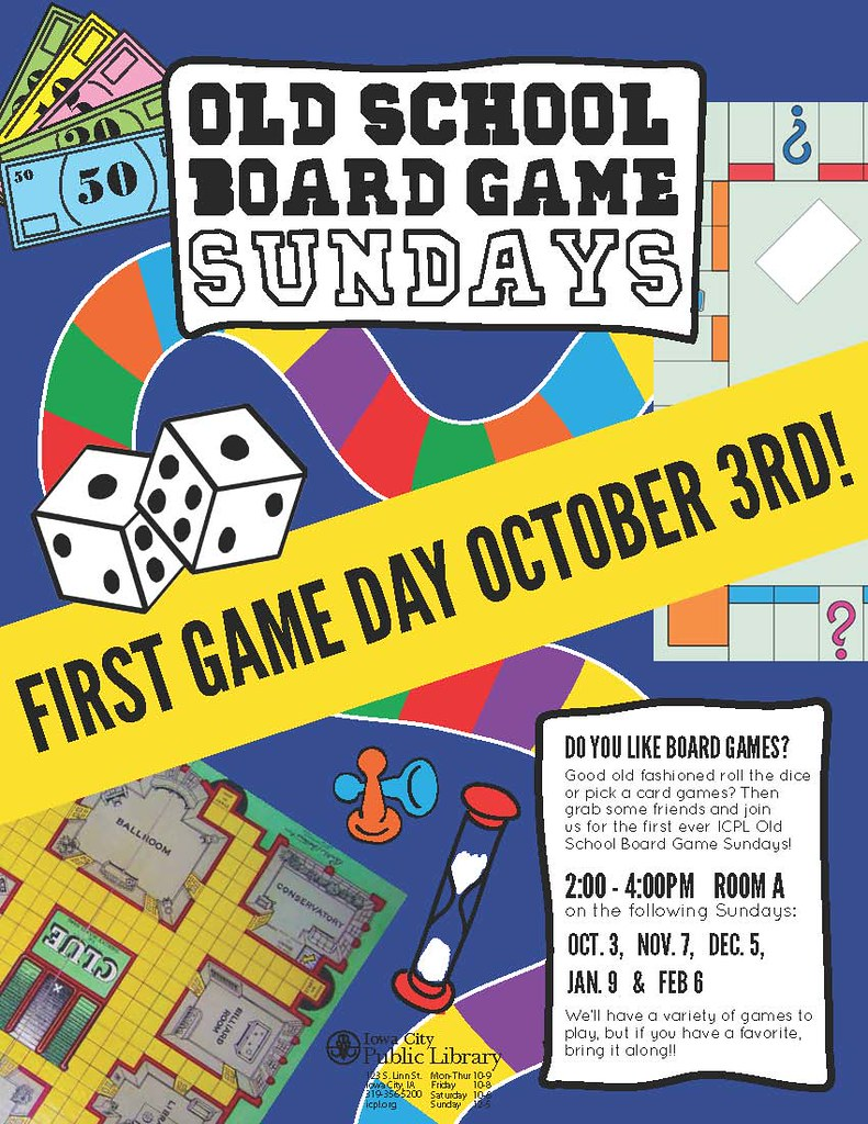 Iowa City Board Games