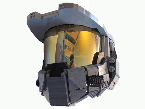 Master Chief Helmet | by Benny Brickster