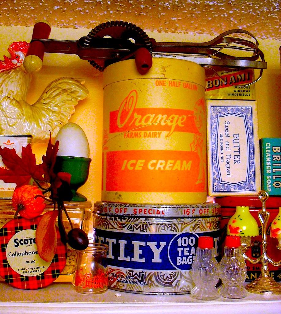 Vintage Kitchen Photography: 1940s 1950s 1960s Vintage Kitchen Collectibles E
