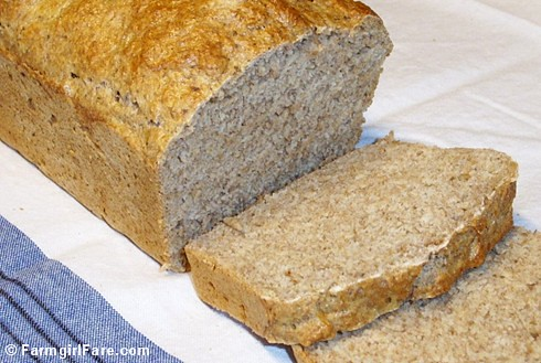 Beyond Easy Whole Wheat Beer Bread | by Farmgirl Susan
