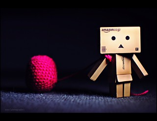 Danbo wants his favourite crochet ornament to be up the xmas tree too | by s.i.m.z