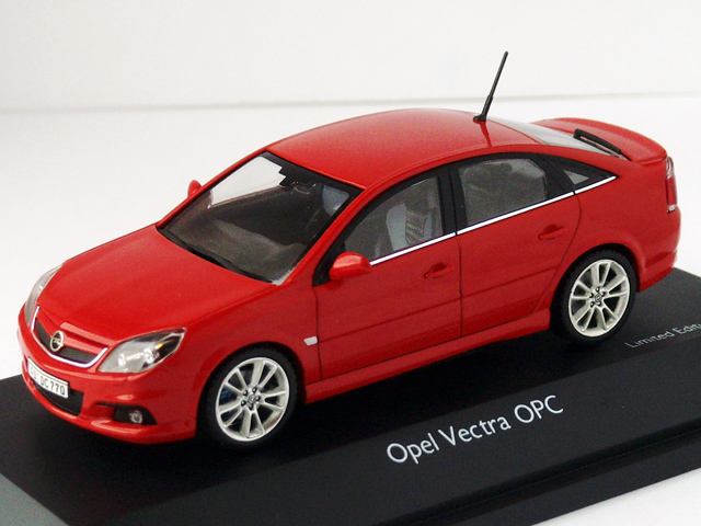 1 43 opel vauxhall vectra c opc vxr flame red by schuc. Black Bedroom Furniture Sets. Home Design Ideas