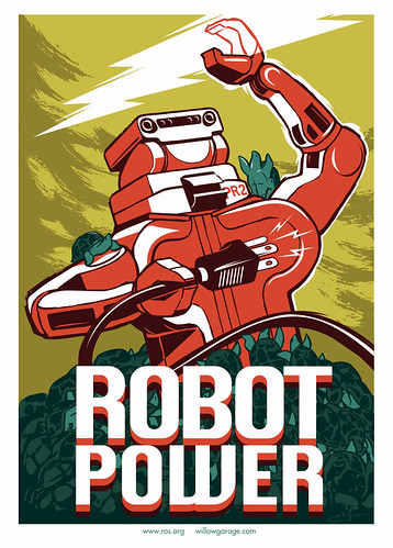 Robot Poster | by willowgarage