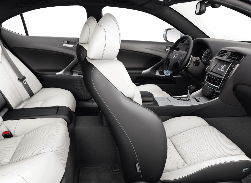2010 Lexus IS F with Soft Fuji White leather interior  Flickr