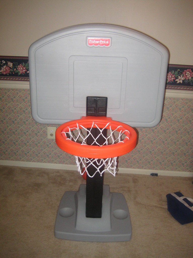FISHER PRICE GROW TO PRO BASKETBALL - $30   only used indoor…   Flickr