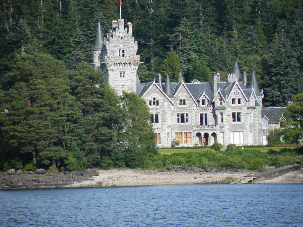Ardverikie Castle Where Monarch Of The Glen Was Filmed