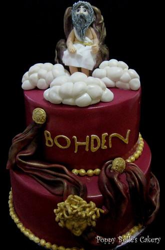 Medusa Birthday Cake