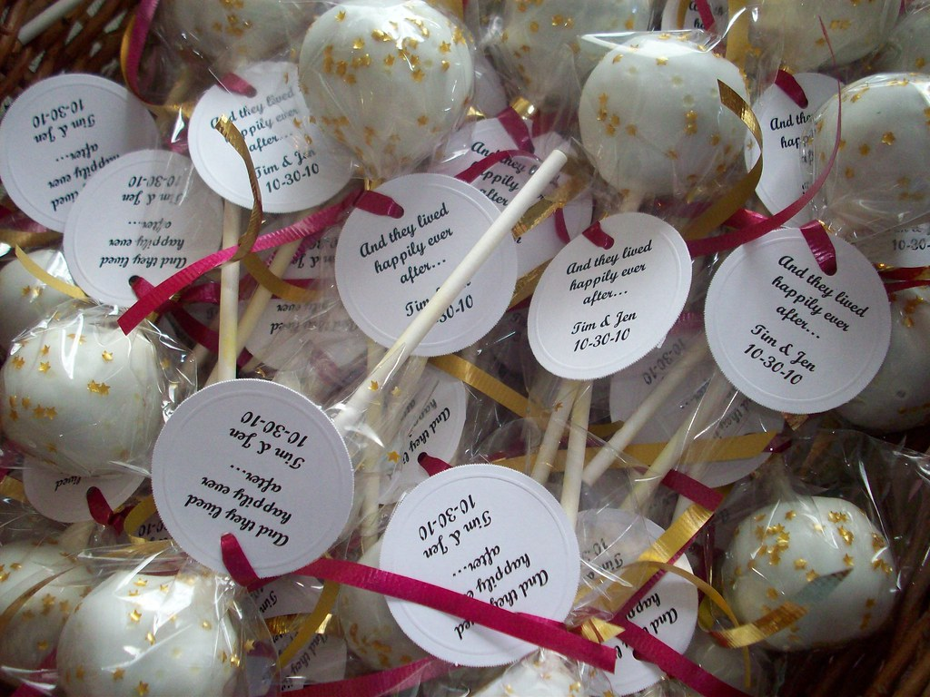Cake Pop Favors Nj