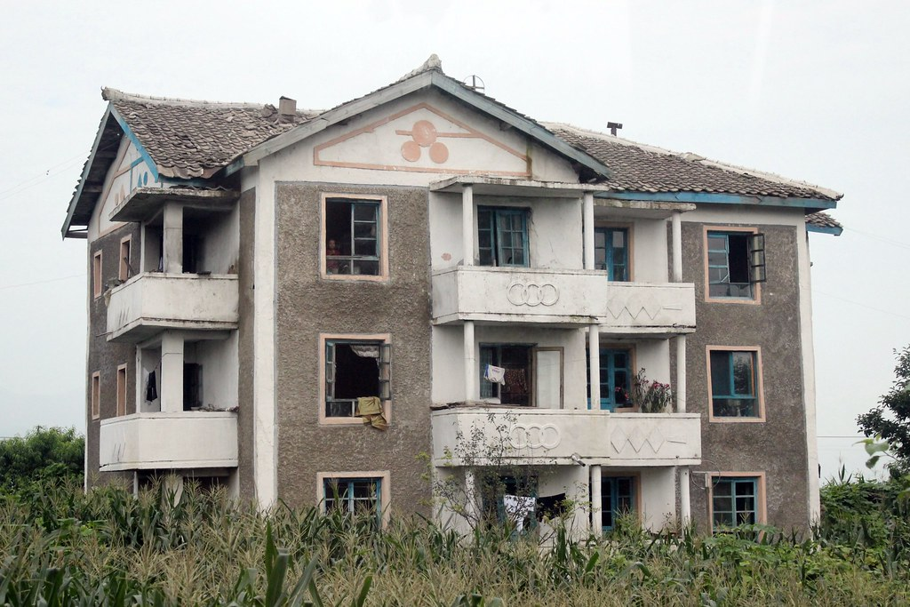 Rural Housing In North Korea Many Homes Are In Poor