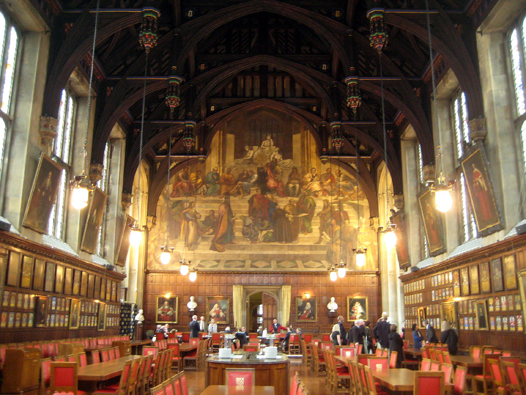 Lincoln S Inn Great Hall With Mural The Lawmakers Flickr