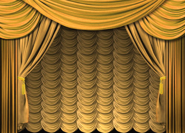 Curtains Gold Scalloped | CAllen_CKaccount | Flickr
