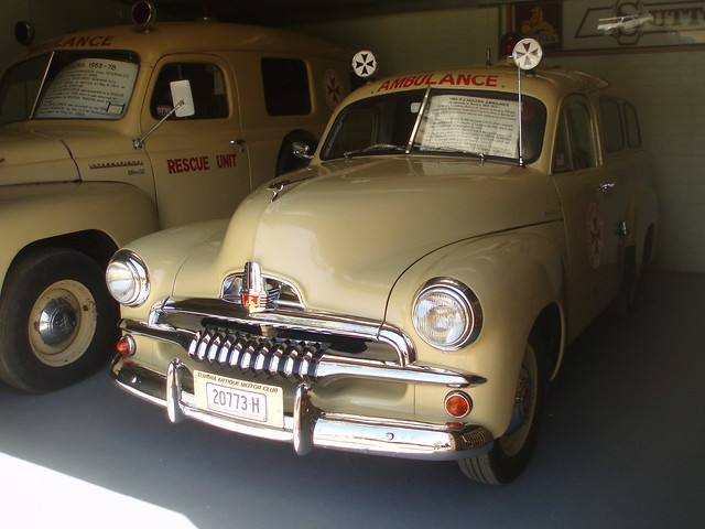 1956 holden fj ambulance flickr photo sharing for Mccurley mercedes benz