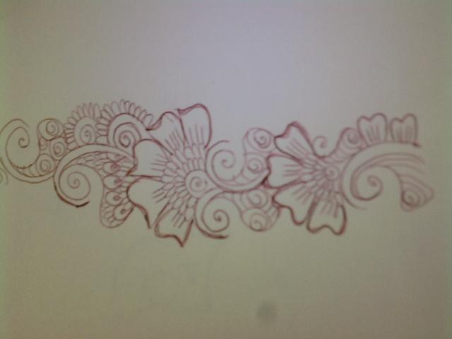 Mehndi Patterns On Paper : Mehndi pattern on paper flawlessmehndi flickr