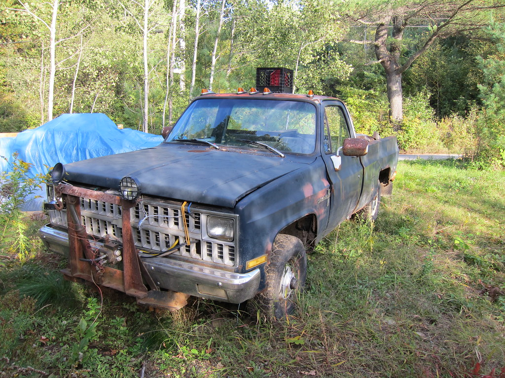 Chevy Truck New >> A Broken Down Chevy Truck   I went out for a bike ride and t…   Flickr