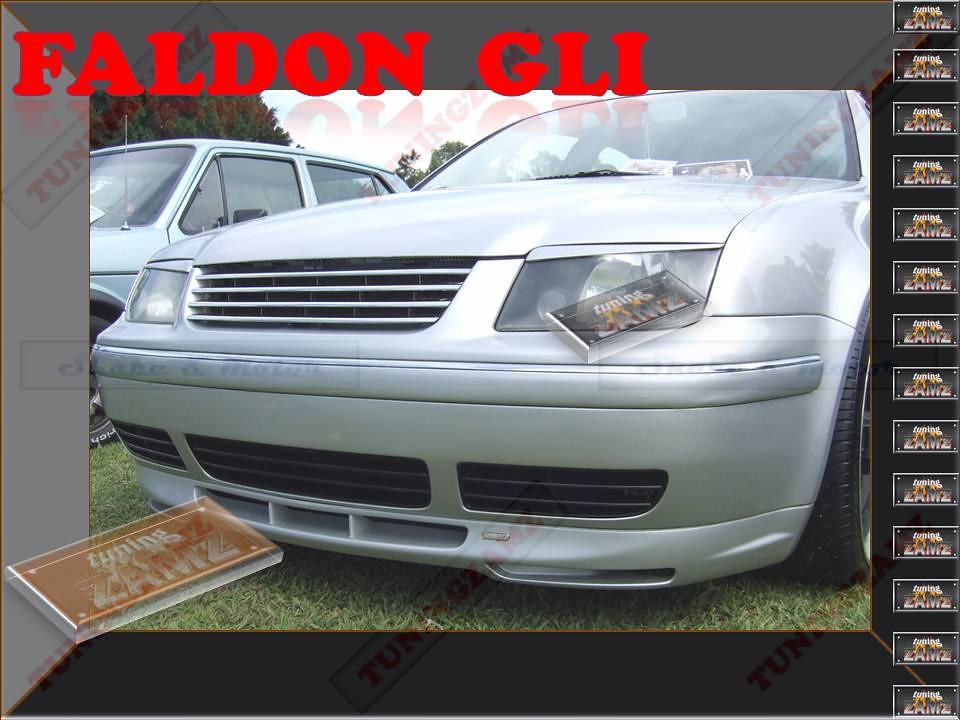 TUNINGZAMZ FALDON GLI PARA JETTA A4, GOLF MK4, AUTOMAGIC ...