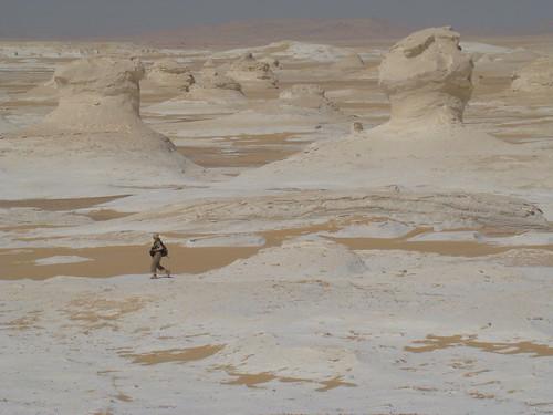 Roca fungiforme o en seta - White Desert (Egipto) - 05