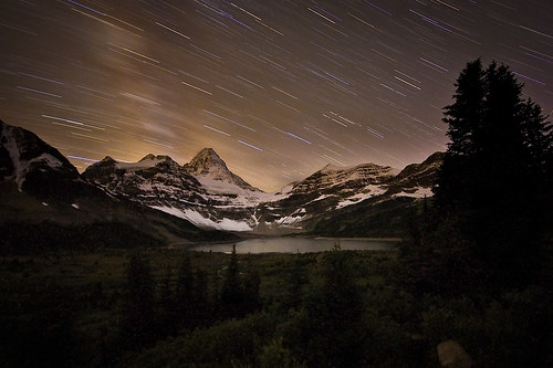 Assiniboine Star Light | by Jeff Pang