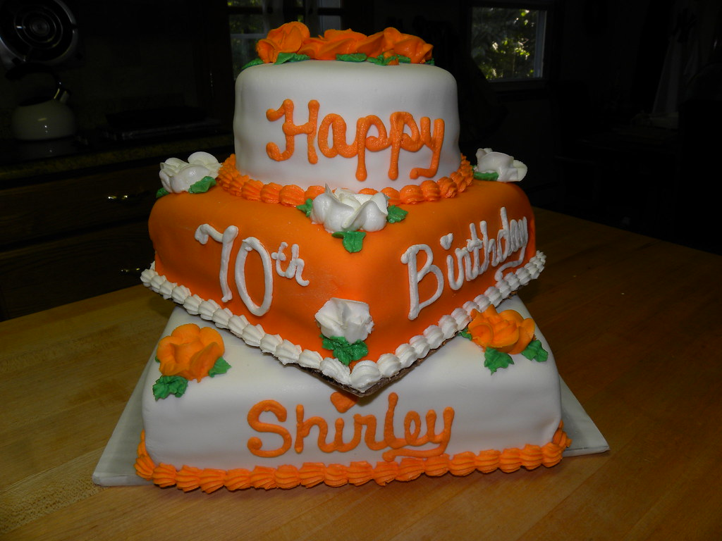 Orange Cake With White Chocolate Chip