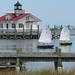 Roanoke Marshes Replica Lighthouse in Manteo, North Carolina