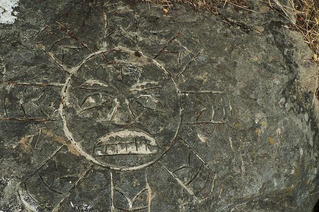 Haida sun carving flickr photo sharing
