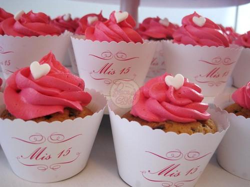 Cupcakes 15 años - Imagui