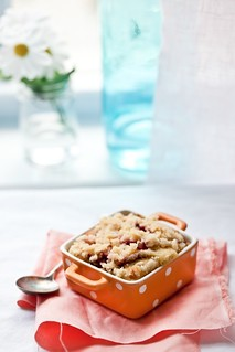 Plum Crumble | by tartelette