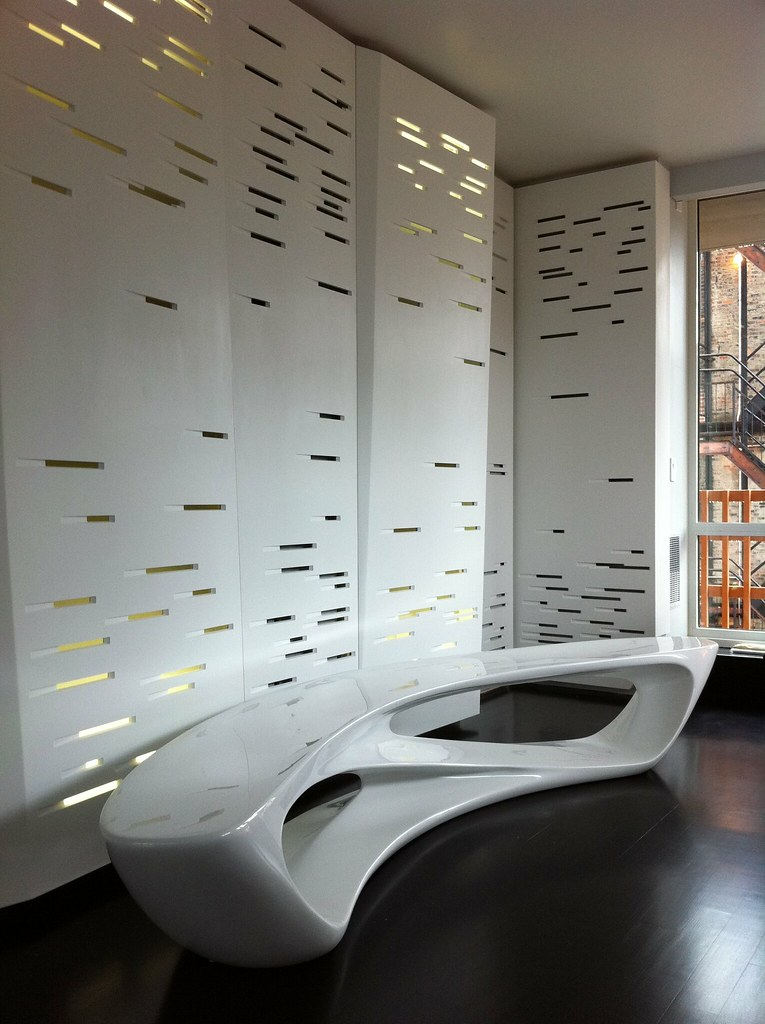 Corian Wall Perforated And Backlit Corian Wall Panel