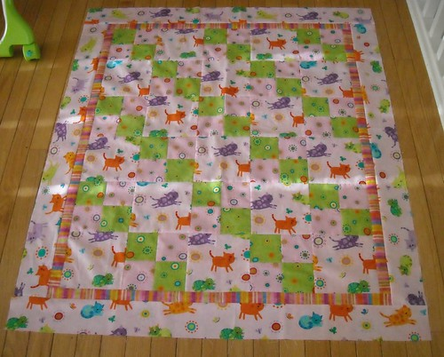 quilt top for Quilts for Kids | by vickivictoria