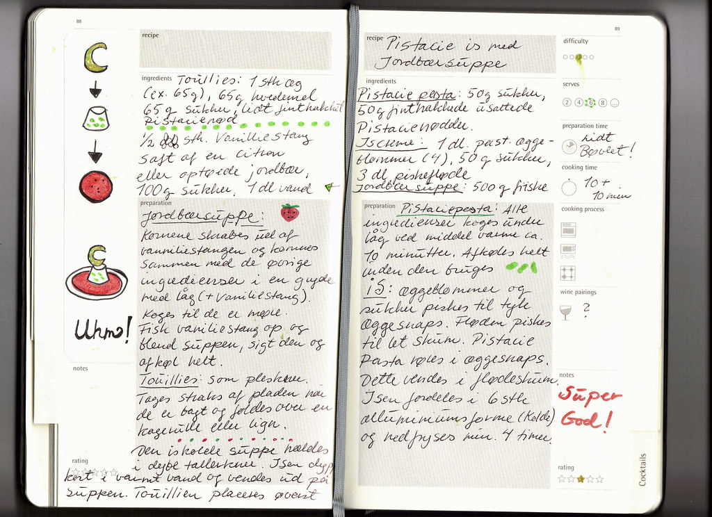 moleskine professional notebook instructions