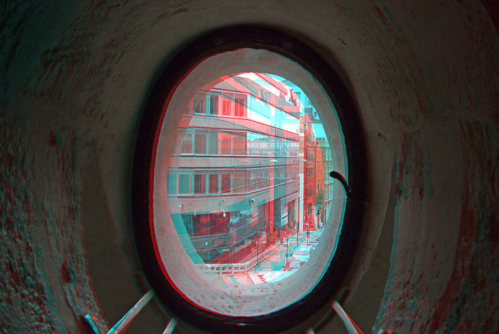 Out And About Inside The Monument In Anaglyph 3D Stereo Re
