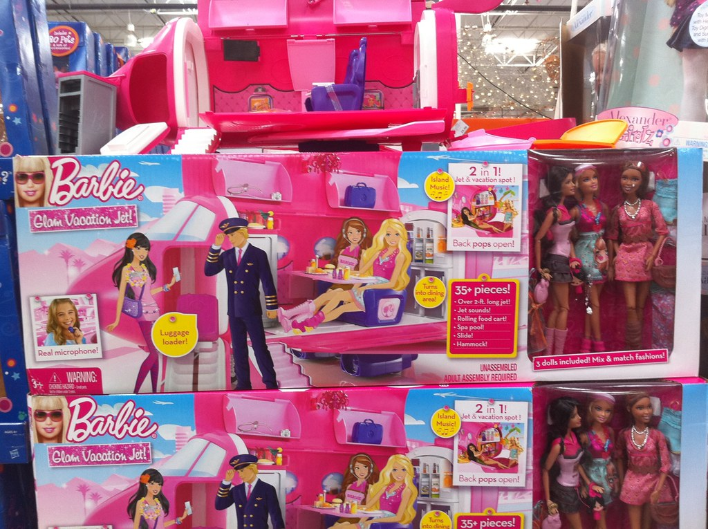 Barbie Fashionista Glam Jet Gift Set Hot Buy Since Its