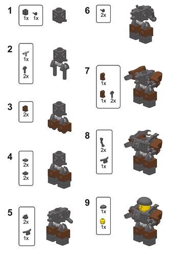 Lego Building Techniques Flickr