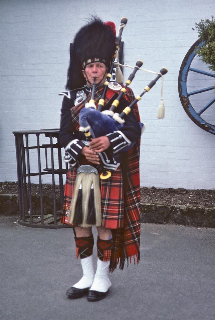 Schotse Doedelzakspeler Scottish Piper Schotse