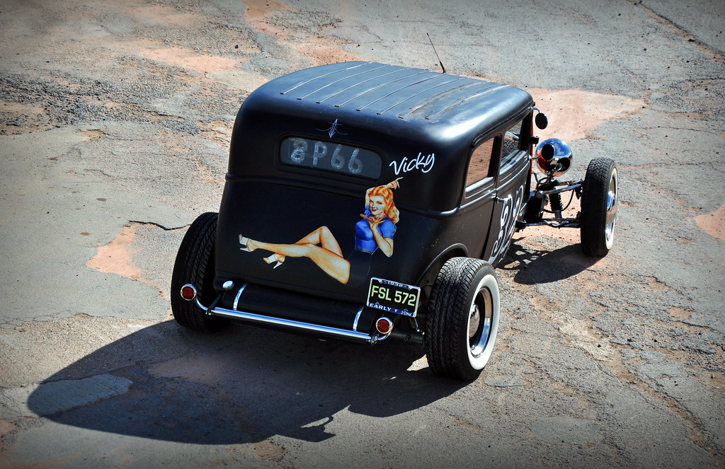 Hot Rod Pictures >> Vicky... 1932 Ford Victoria - 2010 NSRA Hot Rod Drags | Flickr